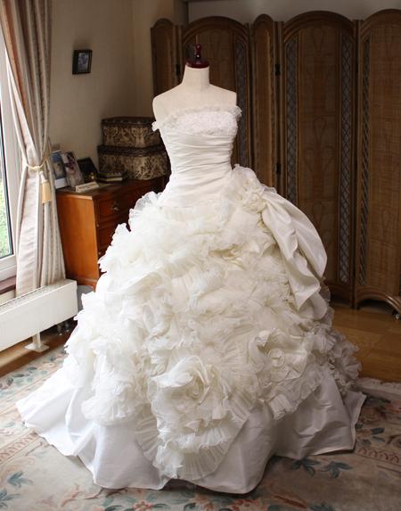 ウェディングドレス ベルライン 2way