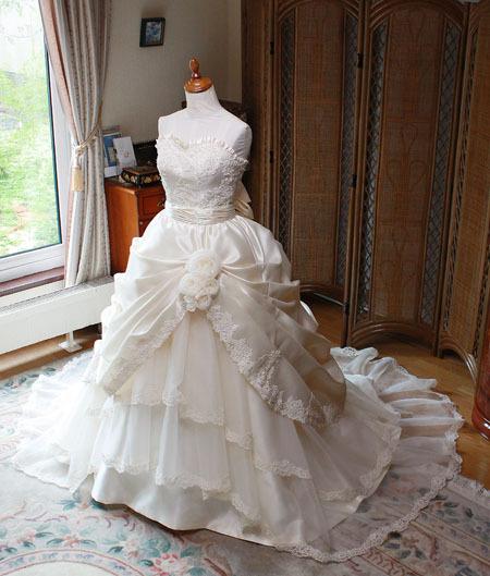 フルオーダーメイド ウェディングドレス