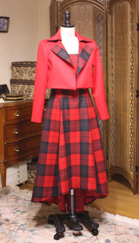 ロングドレス ジャケット