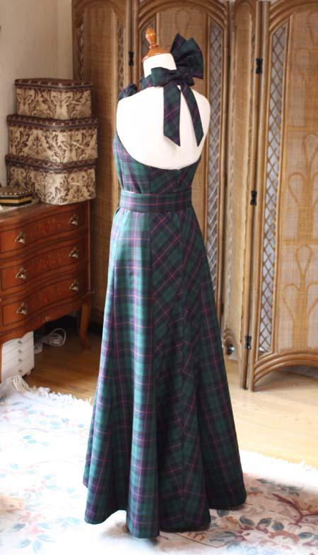 カクテルドレス マーメイドドレス バックスタイル