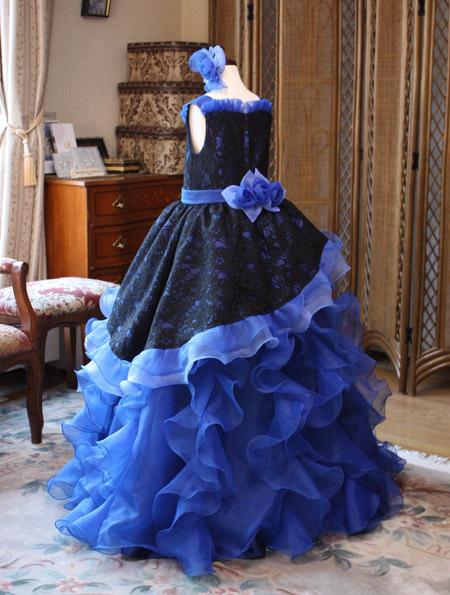 兵庫県のお客様の子供用発表会ドレス