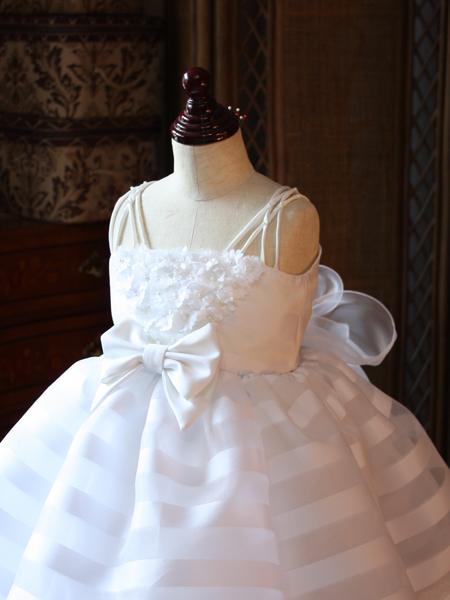 子供用のウェディングドレス オーダーメイド