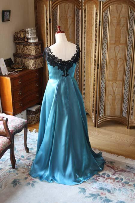 リサイタルドレス バックスタイル ロングドレス リサイタルドレス