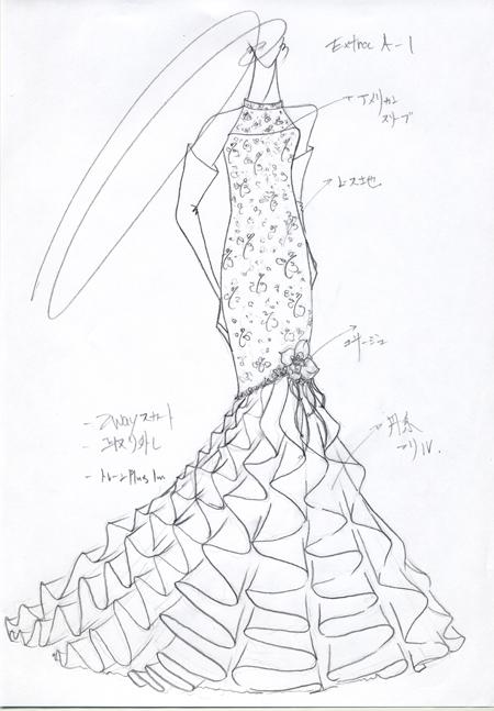 マーメイドライン ウェディングドレス