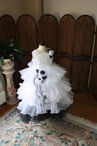 子供用ドレス コレクション!定番デザインに決定!人気のブラック&ホワイト!