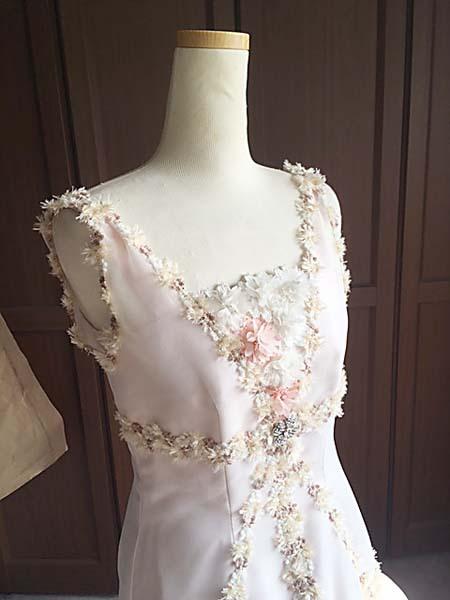 ジュニアサイズのドレス製作 オーダーメイド