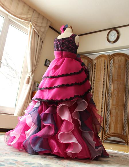 ステージを意識した演奏会ドレス オーダーメイドドレス
