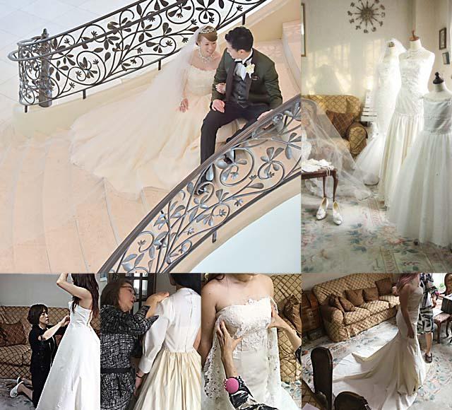 ウェディングドレスをお探しの花嫁は、メタモールフォーゼ ウェディング。札幌店とさいたま店