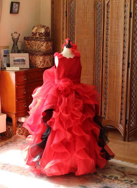 子供用ドレス 発表会とコンクールドレス オーダーメイドドレス