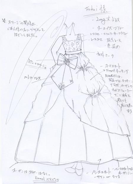 子供用ピアノの発表会ドレス