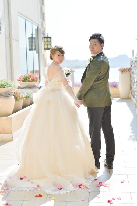 海外ウェディング 花嫁様ウェディングドレス