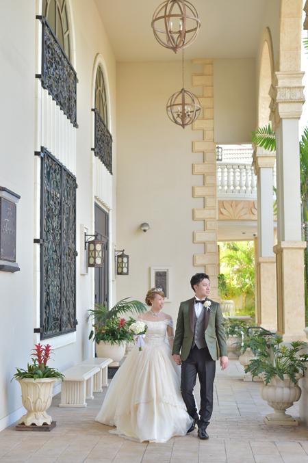 ウェディングドレスをオーダーメイドで作られた花嫁 札幌のお客様