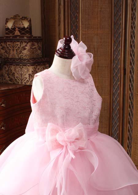 子供用ドレス 受賞コンサート用ドレス ピンク