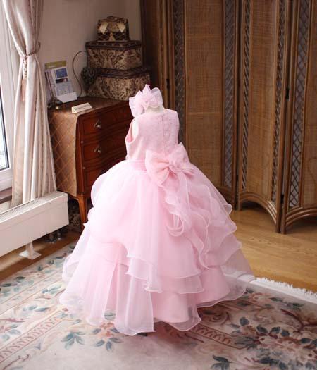 115cmサイズドレスのシルエット