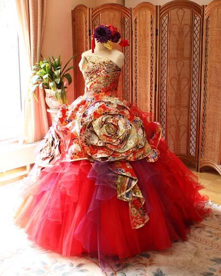 着物ウェディングドレスは和装をしない方にオススメ