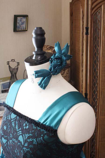 ヘッドドレス コンクール用の衣装