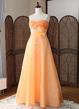 レセプションドレス ロングドレス ブライズメイドドレス オーダー