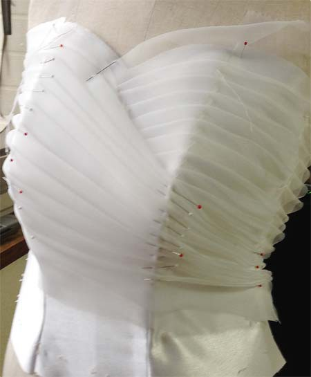 札幌市のドレス製作会社が作るウェディグドレス