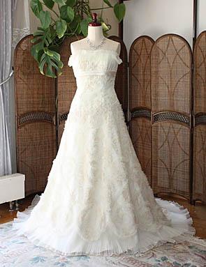 ウェディングドレス オーダー販売 アンティークドレス