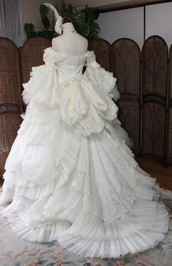 ウェディングドレス アンティーク