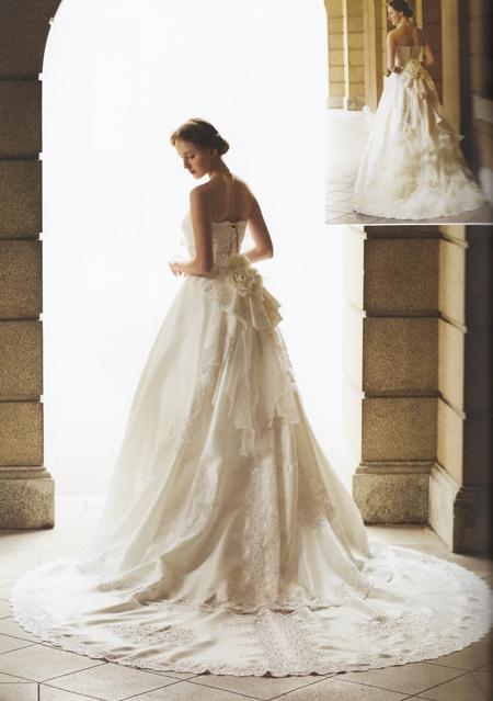 メタモールフォーゼ レンタル部門で人気NO.1ウェディングドレス