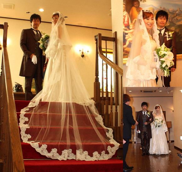 マーメイド ウェディングドレス 卒業花嫁様ドレス オーダーメイド