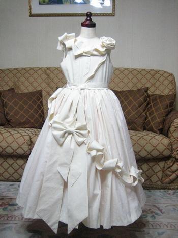 仮縫いドレス