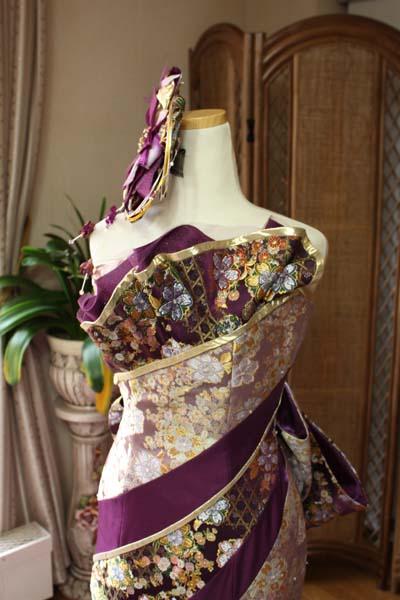 着物 カラードレス