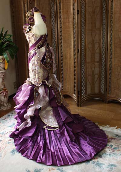 ウェディングドレス 着物