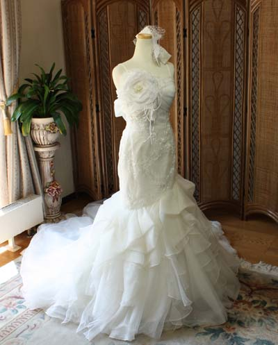 マーメイドウェディングドレス