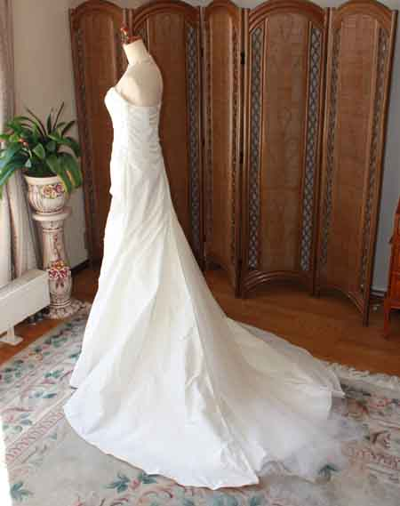 ウェディングドレス リメイク