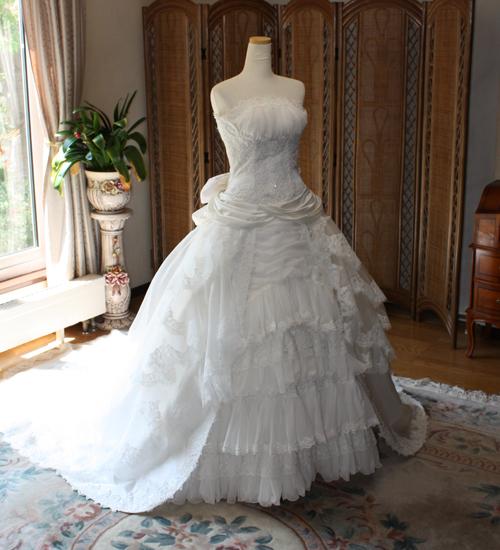 フルオーダーメイドウェディングドレス