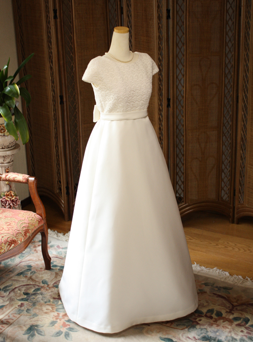アンティーク ウェディングドレス