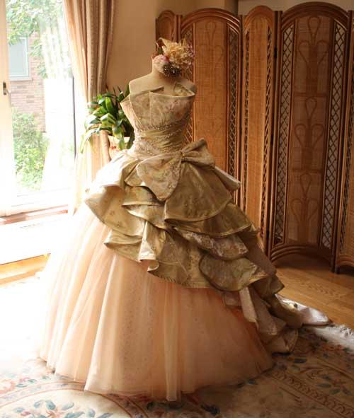 着物ウェディングドレス
