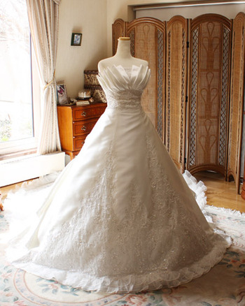 ウェディングドレス 2way