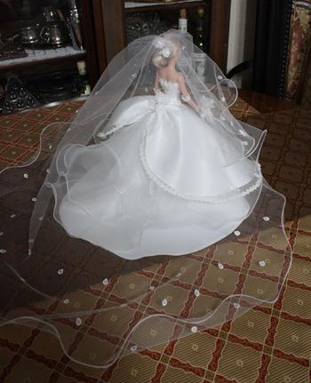 ミニチュア ウェディングドレス