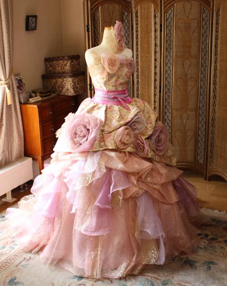 和装カクテルドレス