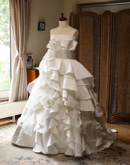 和装ウェディングドレス