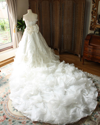 2wayウェディングドレス