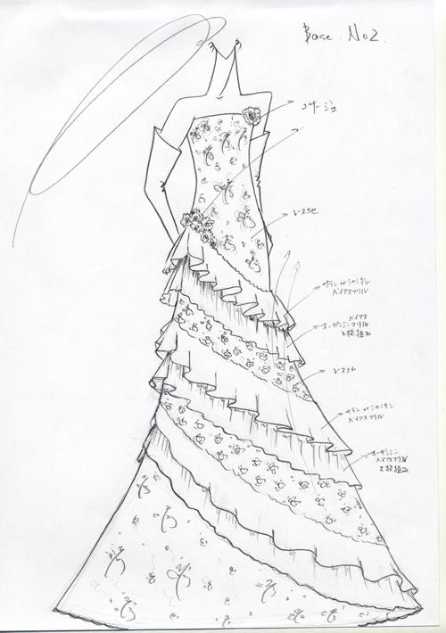 ウェディングドレス デザイン