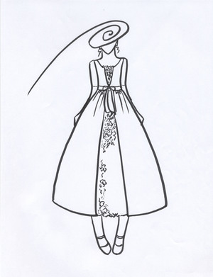 ピアノの発表会ドレス