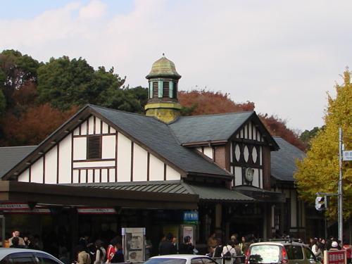 秋色・首都圏・原宿駅