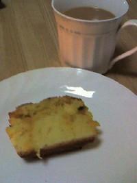 フラワーオブライフのパウンドケーキ