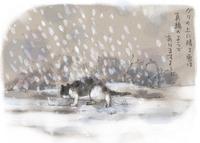 雪、雪、吹雪.....