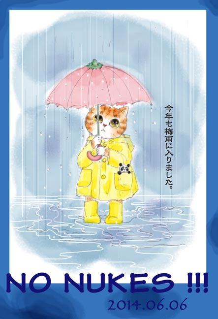 ど〜ちゃんの原発反対-その100「梅雨入り」