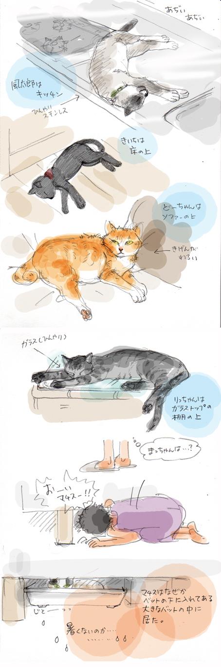 日常スケッチ(1)
