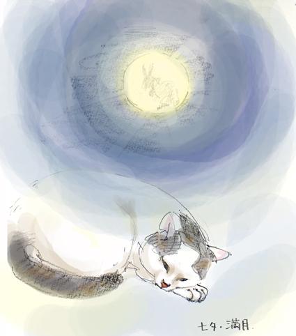 七夕・満月