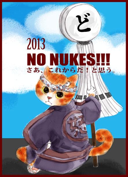 ど〜ちゃんの原発反対-その26「2013!」