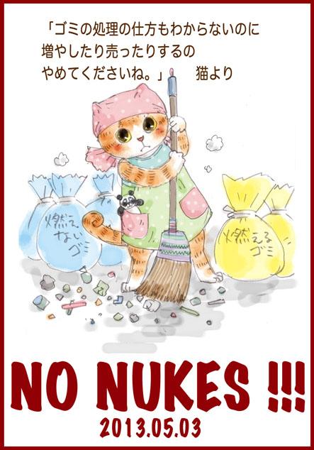 ど〜ちゃんの原発反対-その43「憲法記念日に」