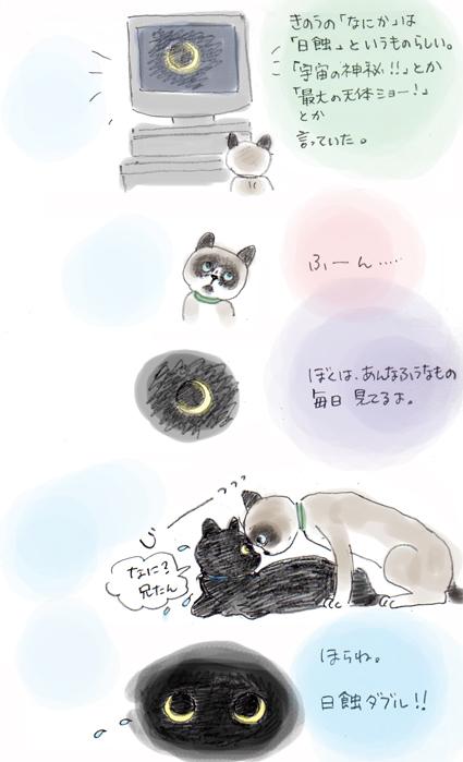 風太郎の日記-2『日蝕.....というもの』